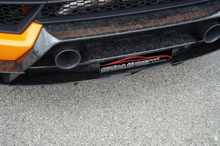 Friedrich Motorsport Diffusoraufsatz mitte in Sichtcarbon FORGED