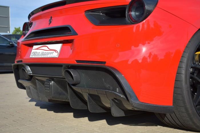 Friedrich Motorsport Diffusoraufsatz in Sichtcarbon