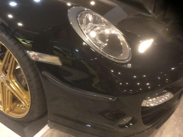 Carbon Front Flaps (Satz) Porsche 997 Turbo