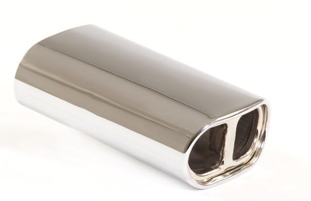 Endrohr 150x78mm oval gebördelt abgerundet