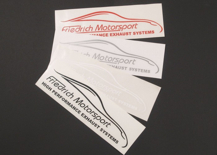 Friedrich Motorsport Aufkleber klein Friedrich Motorsport