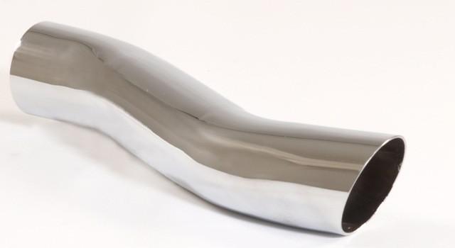 Friedrich Motorsport Endrohr 60mm rund scharfkantig S-Form