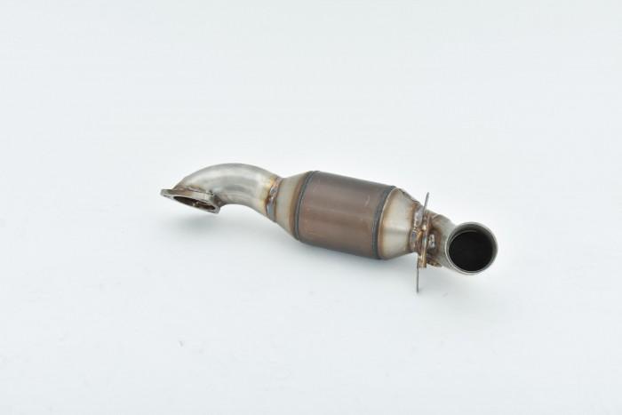 70mm Downpipe mit 200 Zellen HJS Sport-Kat. Edelstahl