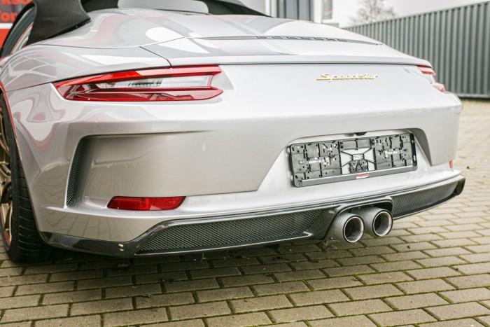 Heckansatz Carbon Porsche 991 Speedster