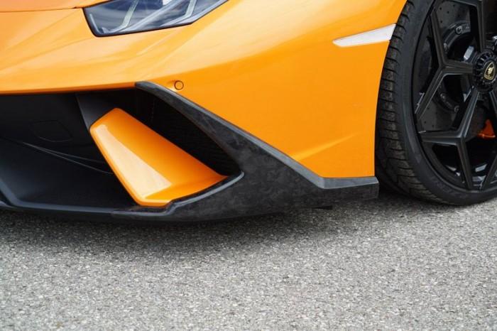 Friedrich Motorsport Frontspoileransatz (Satz) in Sichtcarbon FORGED