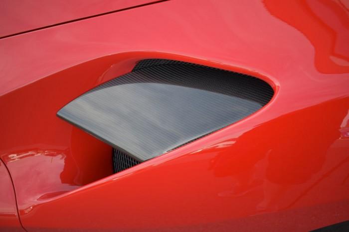 Friedrich Motorsport Luftführungscover Seitenteil (Satz) in Sichtcarbon
