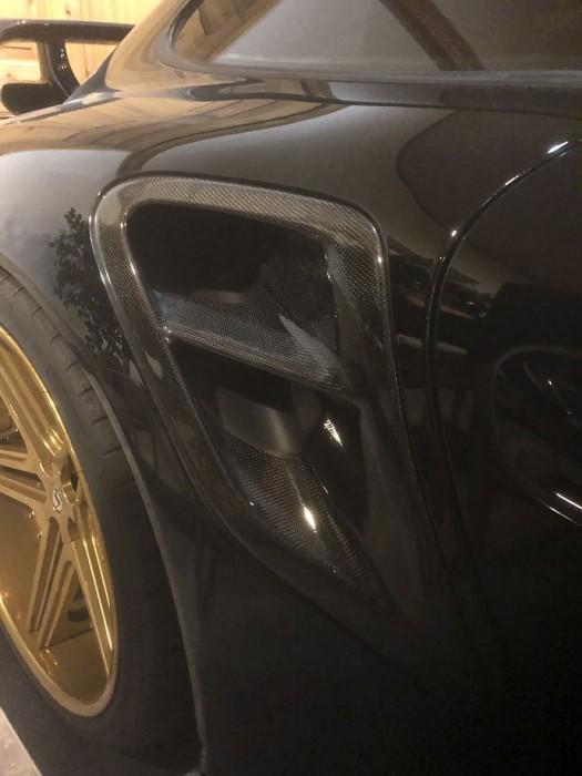 Carbon Lufteinlass (Satz) Porsche 997 Turbo